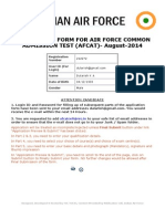 Air Force Registration Form