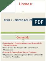Unidad II Diseno Del Producto PDF