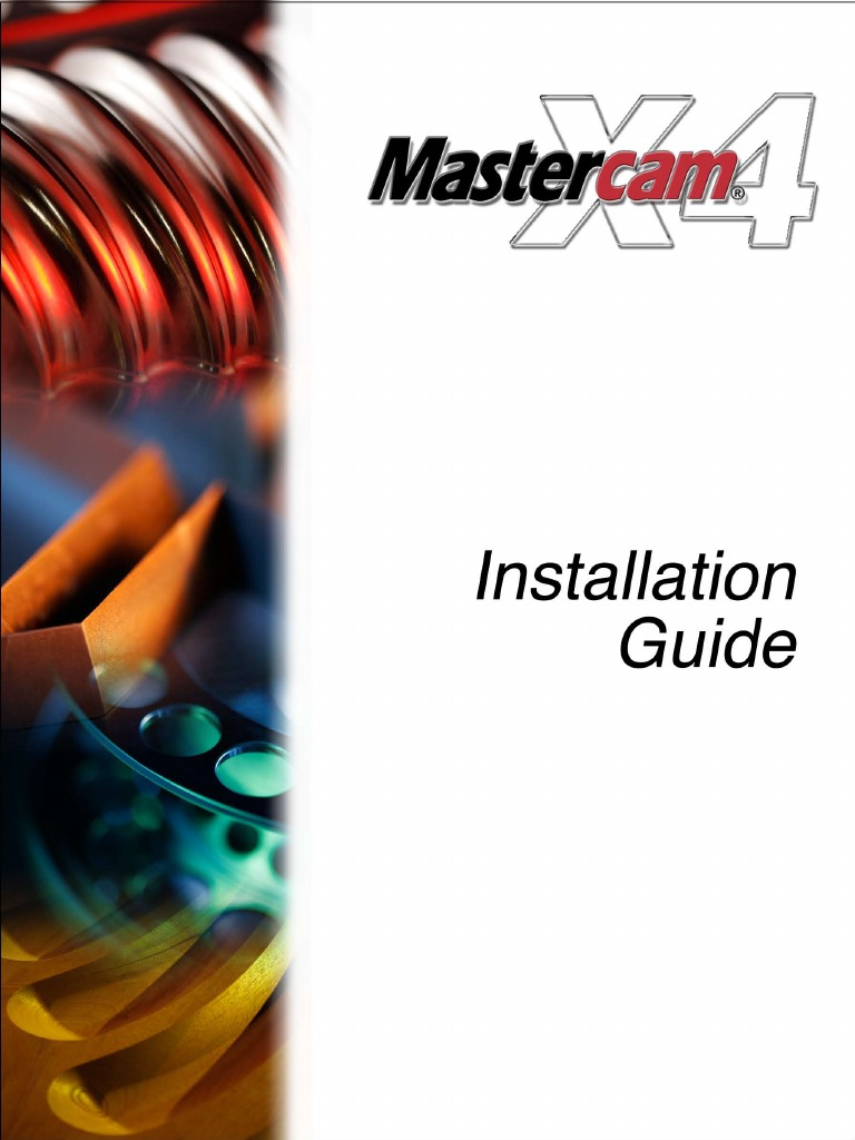 mcamx4 installation guide installation computer programs rh scribd com