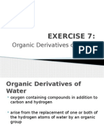 Organic Derivatives