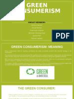 Green Consumerism Final