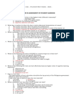 Reviewer in Assessment of Student Learning