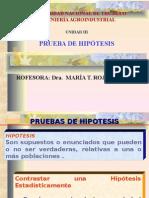 PRUEBA DE HIP+ôTESIS