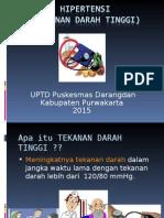 Penyuluhan Hipertensi UPTD Darangdan