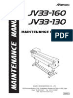 Mimaki JV33 Maintenance Manual
