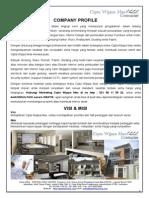 Company Profil 2013 CWM - ALL 110513