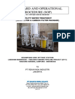 SOP Sand Filter and Carbon Filter Sekampung Udik-CP7