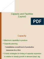 Capacity and Facilities
