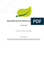 Spring Web Services Reference Documentation