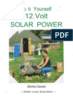 Do It Yourself 12 Volt Solar Power - Michel Daniek [MrChatterbox]
