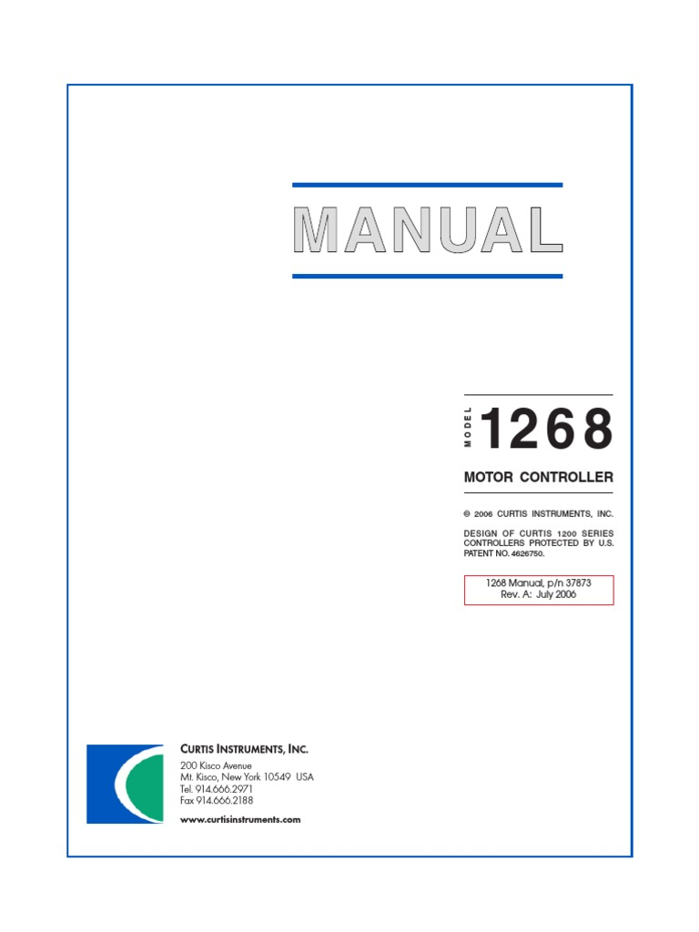 Großartig Curtis 1204 Controller Schaltplan Ideen - Elektrische ...