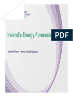 Energy forecast for Ireland