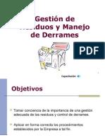 Gestión de Residuos y Manejo Derrames 2013_2