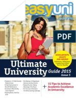 easyuni Ultimate University Guide 2015 issue 5