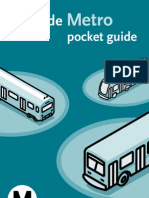 LA Metro - pocket guide spanish