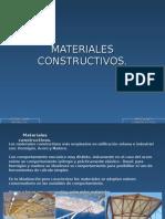 1.2 Materiales Constructivos