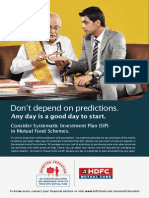 SIP Leaflet Investor Education Hdfc