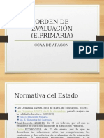 Evaluación Curriculo de Primaria