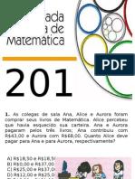 Olimpiadas de Matemática 2014