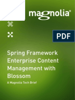 Magnolia Tech Brief Spring Enterprise Content Management With Blossom