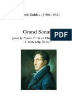 Kuhlau - Grand Sonate - Andante Sostenuto - Arr for 3 Flutes