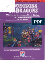 La Ciudad Perdida  Dungeons & Dragons