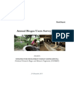 Biogas User Survey 2010