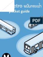 LA Metro - pocket guide thai