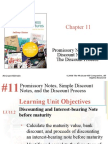 Chap 11 Promissory Notes