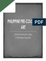 Philippine Pre-colonial Art