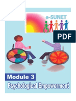Psychological Empowerment
