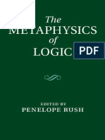 Rush - The Metaphysics of Logic
