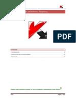 Guia de Instalacion Del Antivirus Kaspersky en Equipos Personales