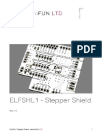 ELFSHL1 - Stepper Shield User Guide