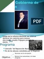 Primera Presidencia de Yrigoyen