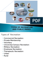 Unit 2- TYPES OF RECREATION Part 2.ppt