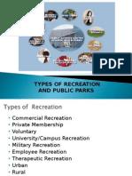 Unit 2- TYPES OF RECREATION Part 2.ppt