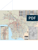 LA Metro - system map