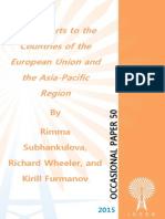 """Gas Exports to the Countries of the European Union and the Asia-Pacific Region,"" by Rimma Subhankulova, Richard Wheeler, and Kirill Furmanov"