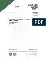 NBR ISO-CIE 8995-1 2013 Iluminação de Ambientes de Trabalho