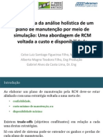 Importancia Da Analise Holistica Dos Planos de Manutençao