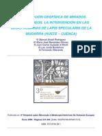 1-Deteccion Geofisica de Minados Subterraneos. Lapis Specularis