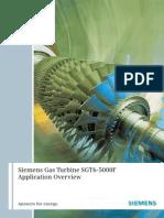 Siemens Gas Turbine SGT6-5000F