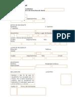 modelo registro Notarial seudónimo