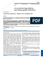 Influence of Heat on Protein Degradation, Ultrastructure and Eating Quality Indicators of Pork.