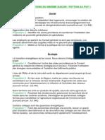 Les 14 propositions du binome Gacon Potton au Puy 1