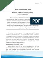 Materi Asistensi Agama Islam