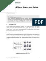 Konfigurasi Dasar Cisco Router