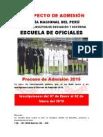 Prospecto Admision EO 2015