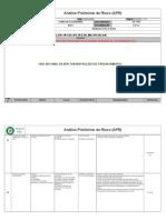 Apr-001 Análise Preliminar de Risco (Eletrificaçao de Poço)